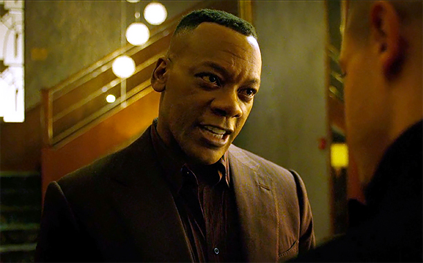 Erik LaRay as Willis Stryker in Luke Cage