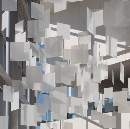 Spencer Finch, Optical Cloud, 2014.