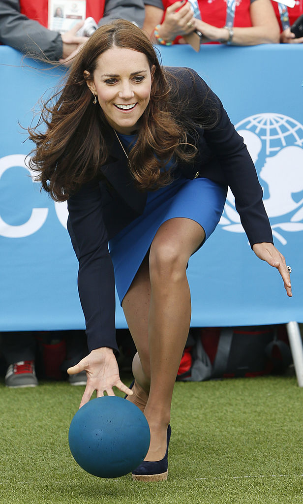 Perhaps Kate Middleton can be your teammate.