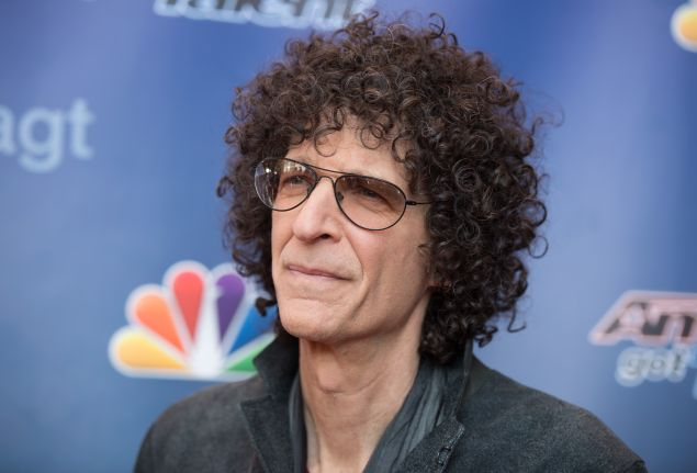 "Howard Stern arrives at the ""America's Got Talent"" Season 10 Red Carpet Event at New Jersey Performing Arts Center on March 2, 2015 in Newark, New Jersey."