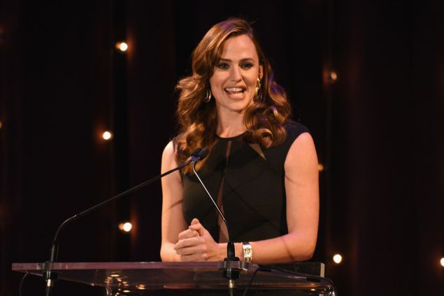 Jennifer Garner speaks onstage at the 3rd Annual Save the Children Illumination Gala on November 17, 2015 in New York City.