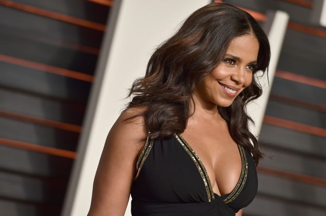 Actress Sanaa Lathan attends the 2016 Vanity Fair Oscar Party. She will be honored by the Harlem School of Arts's Masquerade Ball on Halloween.