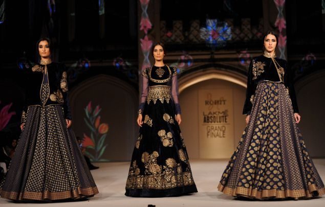 Rohit Bal Show Spring 2016; Photo: Getty Images