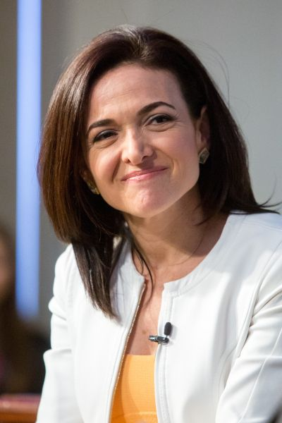 Facebook's COO Sheryl Sandberg at The American Enterprise Institute for Public Policy Research on June 22, 2016 in Washington, DC.