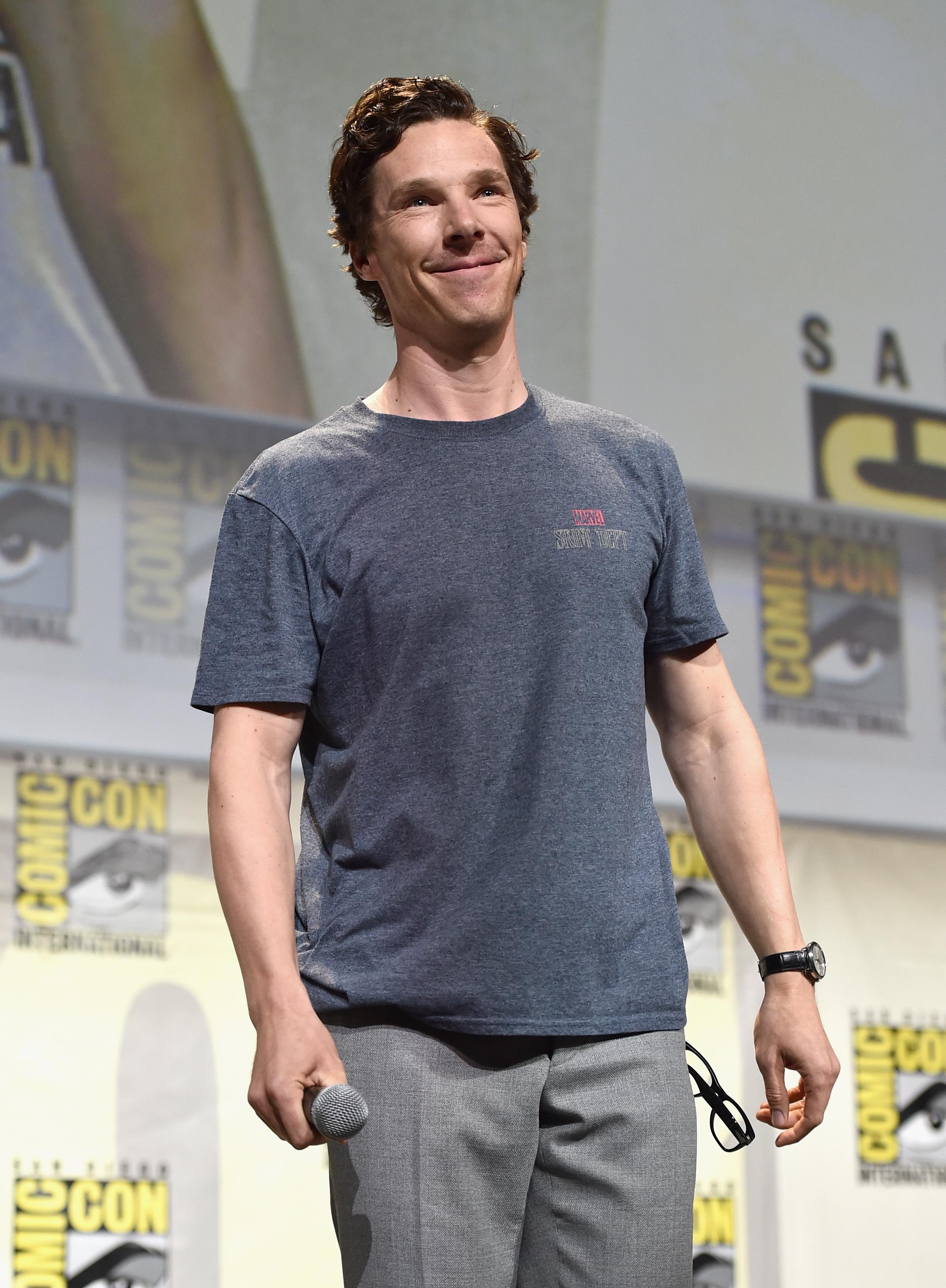 Actor Benedict Cumberbatch.