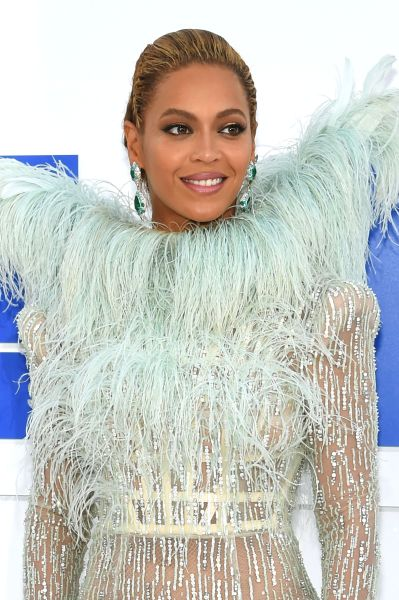Beyonce at the 2016 MTV Video Music Awards at Madison Square Garden on August 28, 2016 in New York City.