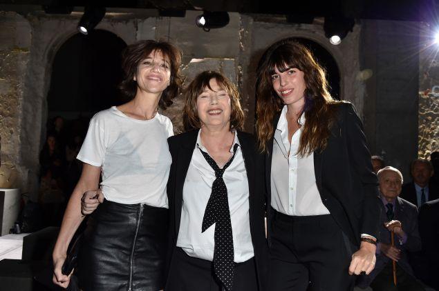 Charlotte Gainsbourg,Jane Birkin and Lou Doillon.