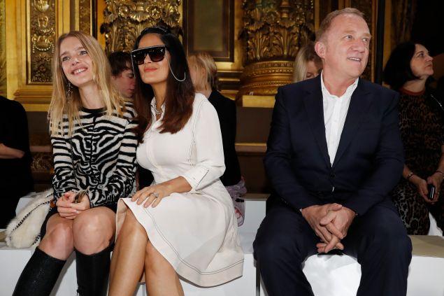Natalia Vodianova, Salma Hayek, François-Henri Pinault