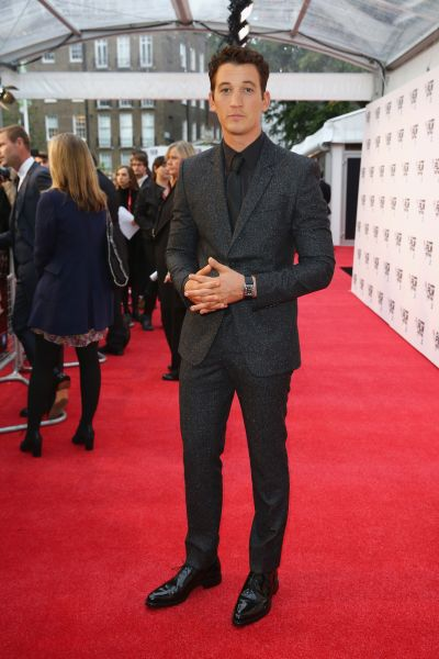 Miles Teller in Givenchy.
