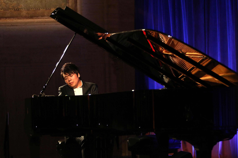 NEW YORK, NY - OCTOBER 17: Lang Lang performs at the Lang Lang International Music Foundation Gala at Cipriani 25 Broadway on October 17, 2016 in New York City.