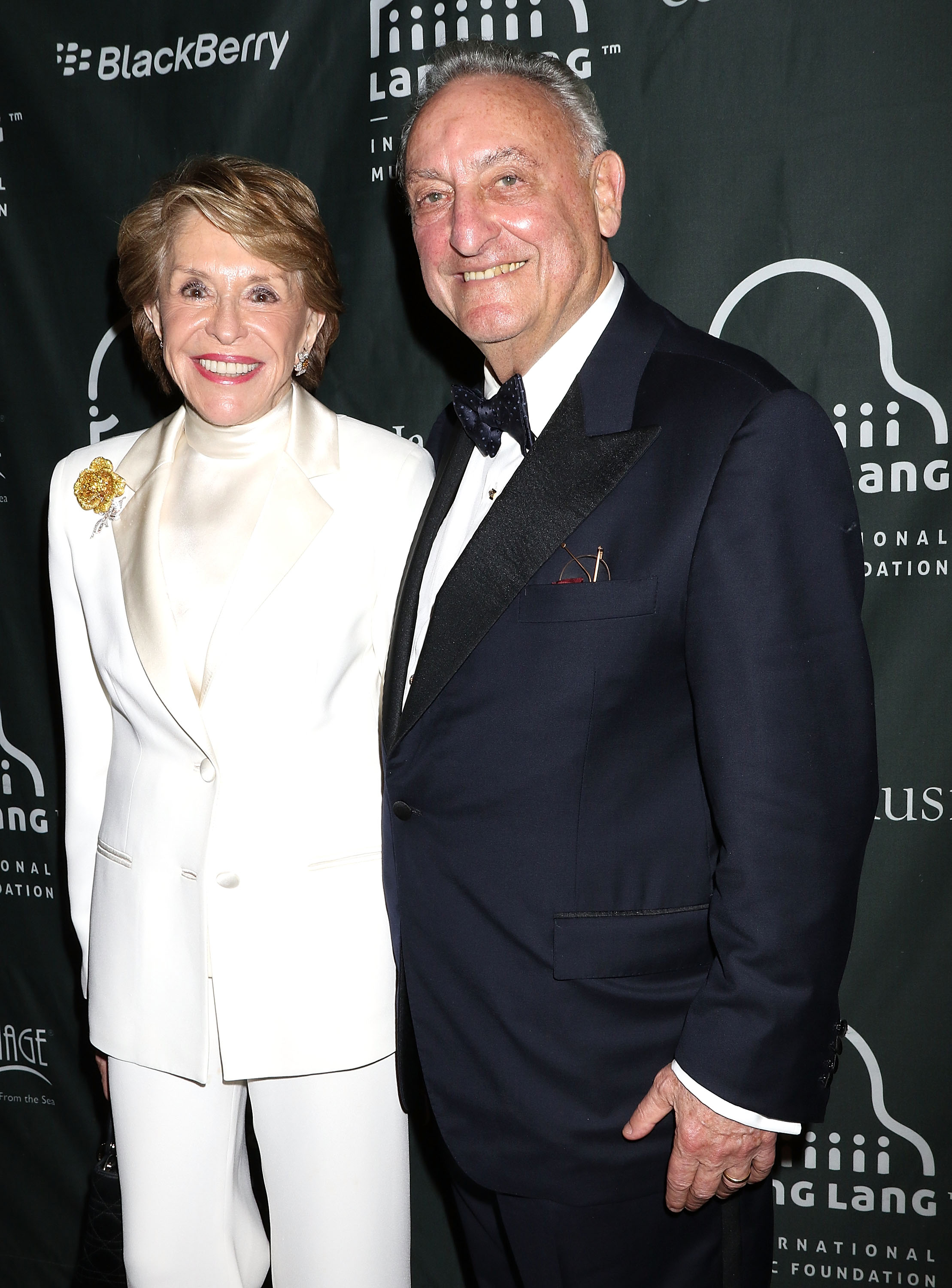 Joan H. Weill and Sanford I. Weill attend the Lang Lang International Music Foundation Gala at Cipriani 25 Broadway on October 17, 2016 in New York City. (Photo by )