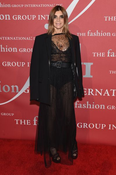 Carine Roitfeld in, you guessed it, Givenchy.