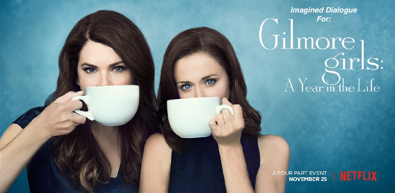 Lauren Graham and Alexis Bledel.