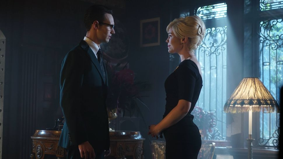 Cory Michael Smith and Chelsea Spack.