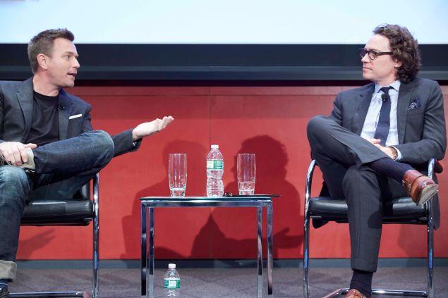 Ewan McGregor and Esquire's Jay Fielden.