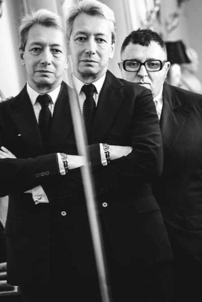 Frederic Malle and Alber Elbaz.