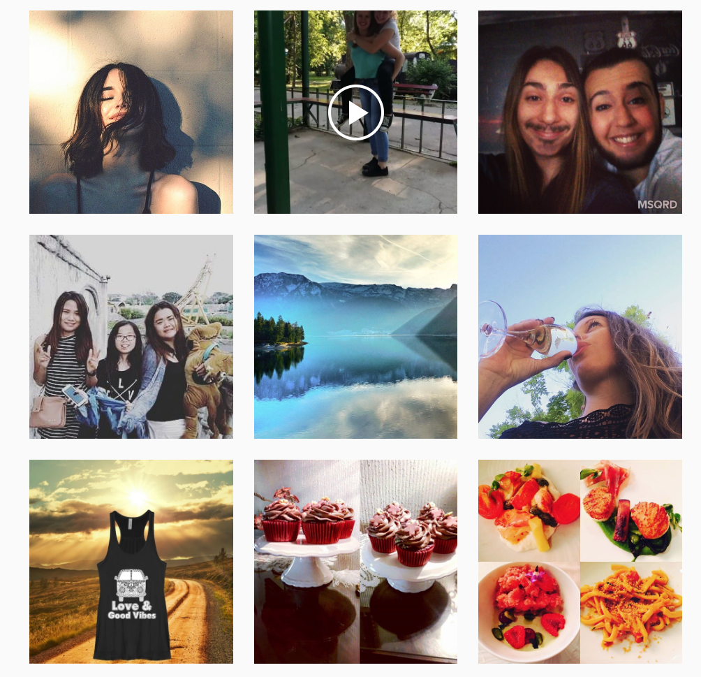 Photos from Instagram tagged #happiness.