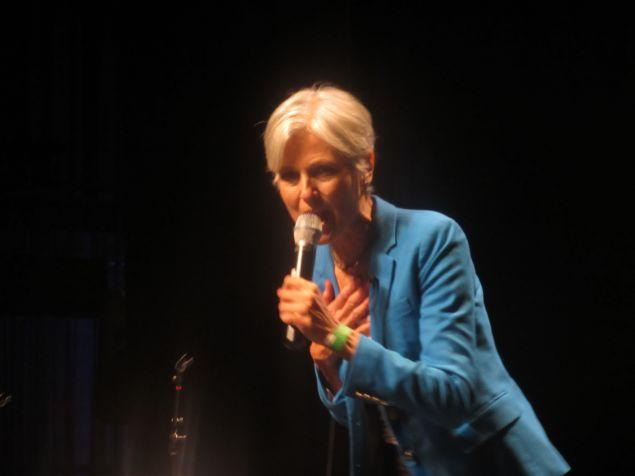 Dr. Jill Stein in the Bronx.