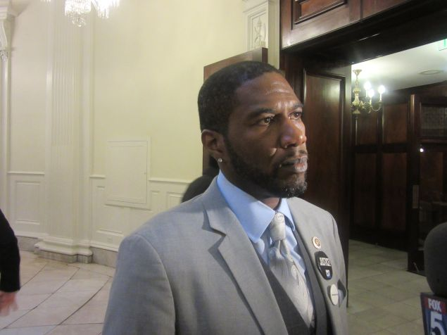 Councilman Jumaane Williams today.