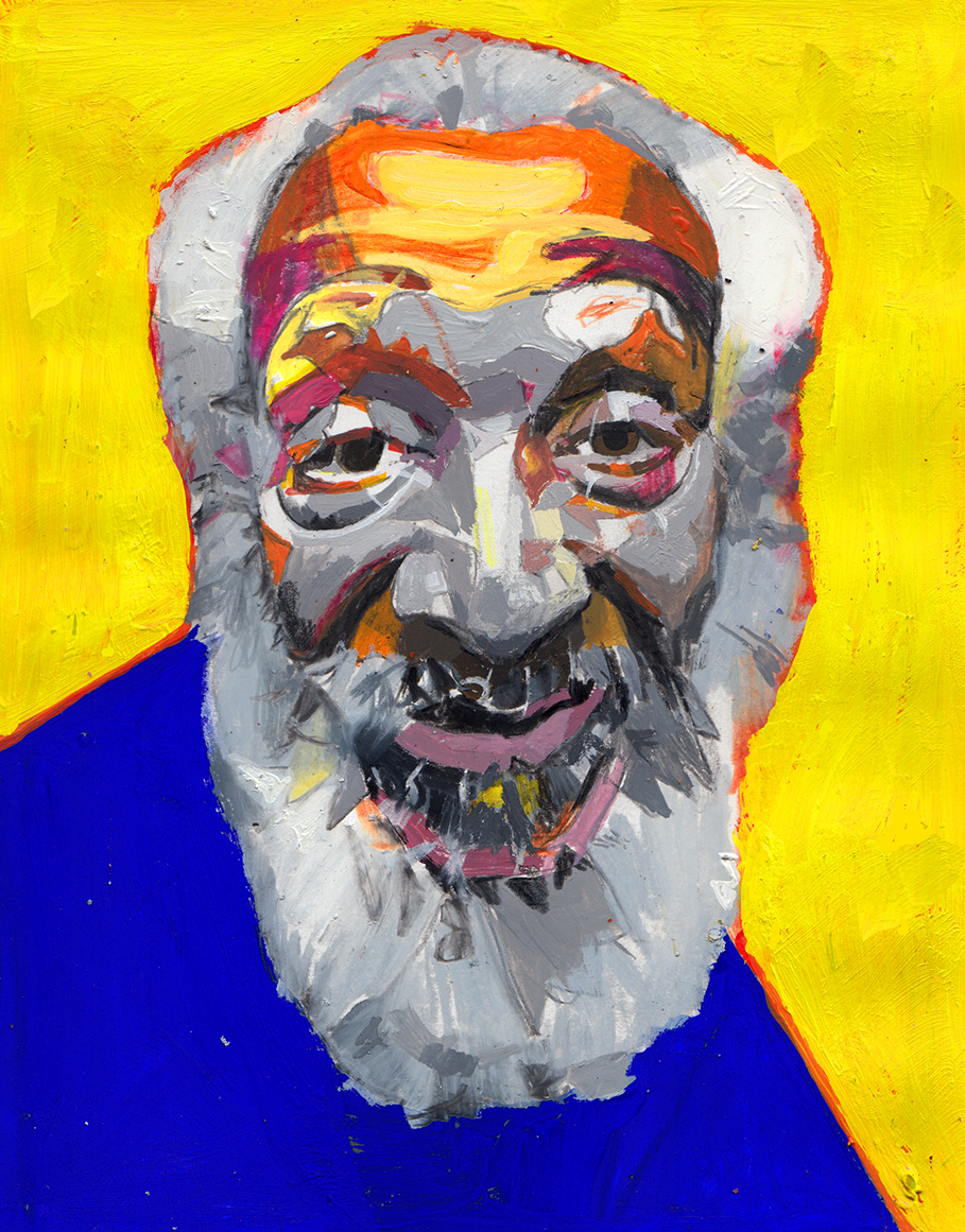 Illustration of Dick Gregory