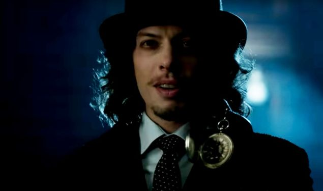 Benedict Samuel as The Mad Hatter on Gotham.
