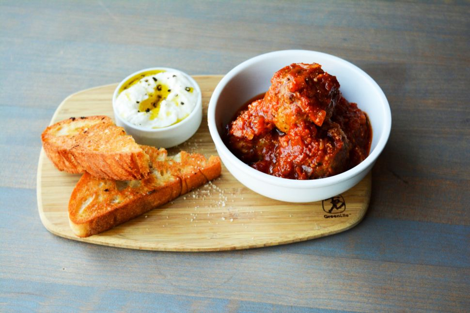 Red-sauce meatballs are just the beginning of the fun at Love & Salt.