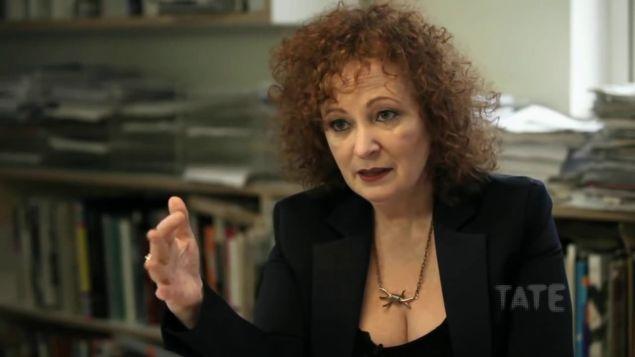 Photographer Nan Goldin in 2014.