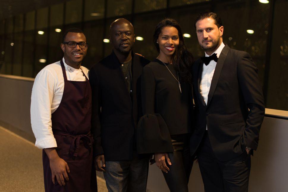 Chef Kwame Onwuachi, David Adjaye, Ashley Shaw-Scott, Jorge Cosano
