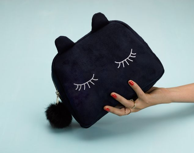 "The cosmetic case is called ""Pia the Pussy,"" intended to be an ice-breaker meant to destigmatize vaginal talk."