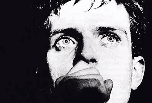 Ian Curtis of Joy Division.