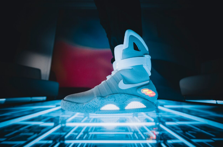 The auto-lacing Nike Mag
