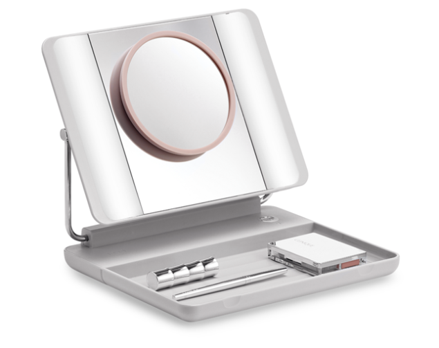 JOI SPOTLITE HD Natural Daylight LED Makeup Mirror, $69.95, Wearejoi.com.