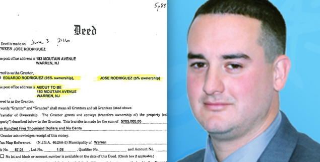 Elizabeth school board member José Rodriguez was part of a land deal with his brother in which the two agreed to establish primary residence outside of the city, where both serve as municipal officials.