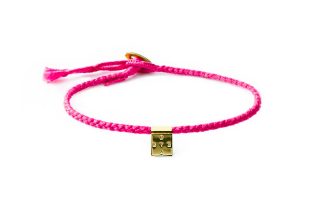 The Brave Collection's Breast Cancer Awareness bracelet.