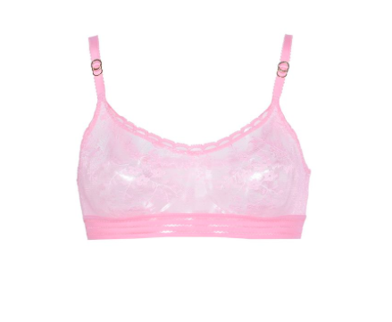 Stella McCartney Lace for Breast Cancer Awareness bra and briefs.