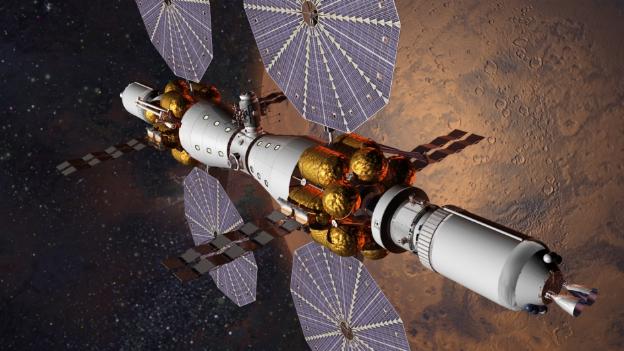 Lockheed Martin's Mars Base Camp concept