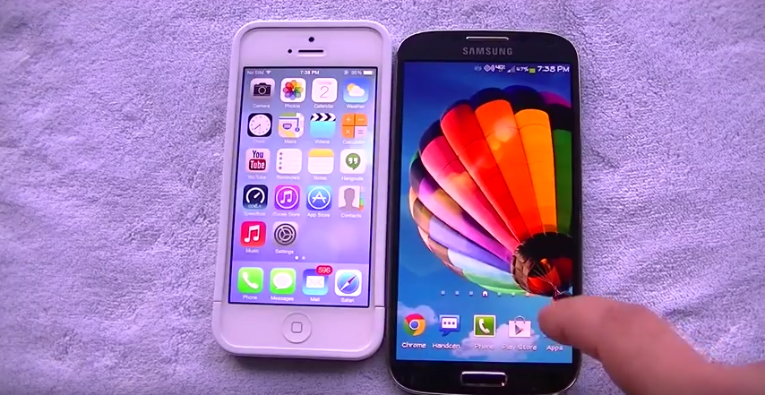 How much did Samsung's phone sales depend on it looking like an iPhone?