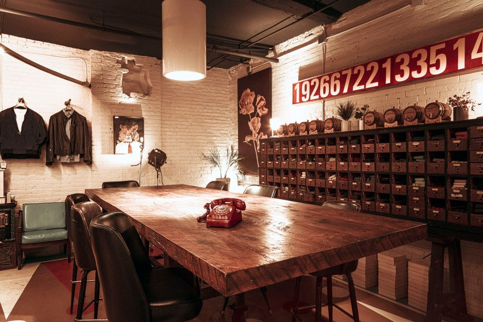VK Nagrani's new Soho store