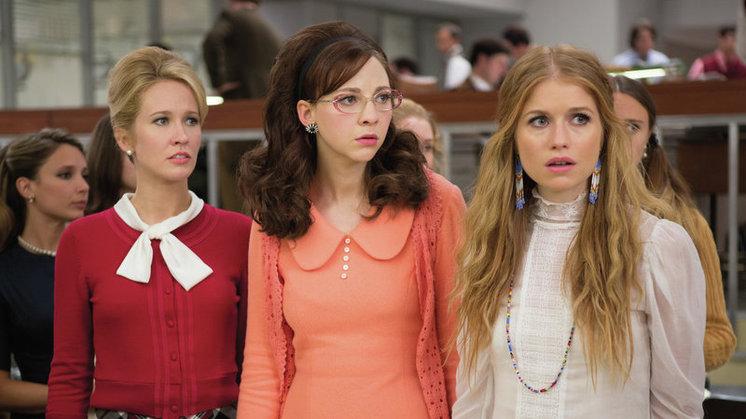 Good Girls Revolt stars Anna Camp, Erin Darke and Genevieve Angelson.