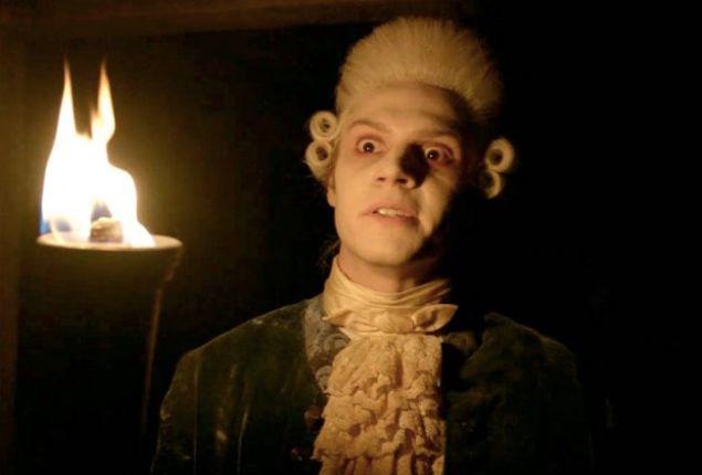 Evan Peters as Edward Philippe Mott on American Horror Story: Roanoke.