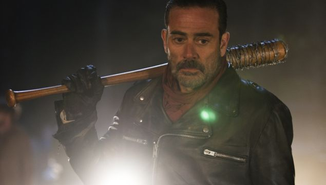Neegan (Jeffrey Dean Morgan) in The Walking Dead.