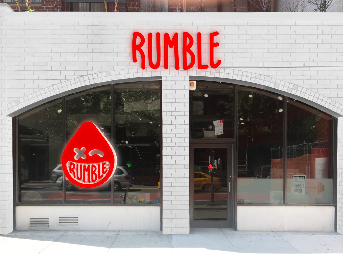 Rumble's opening two locations this month.