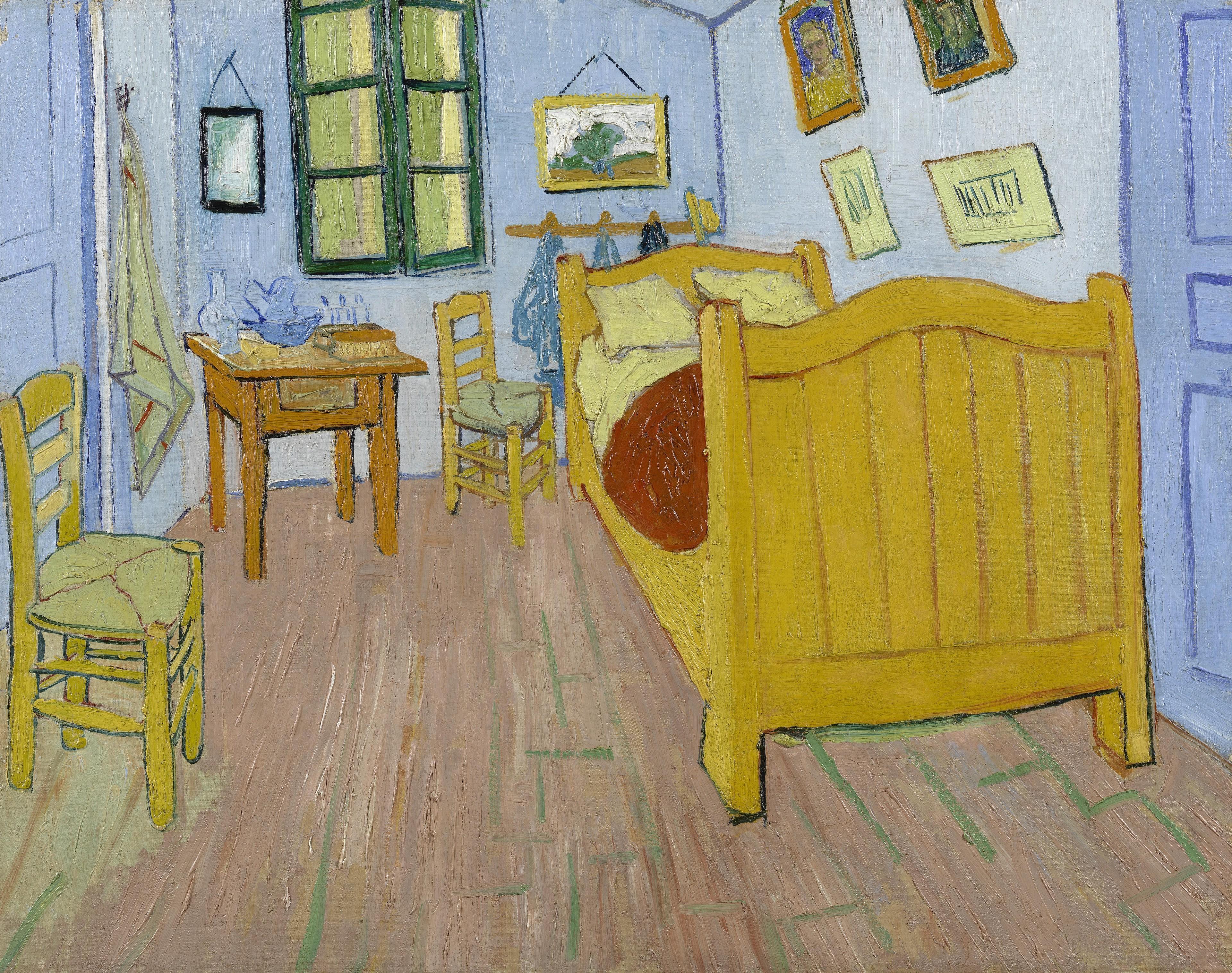 Vincent van Gogh, The Bedroom, 1888.