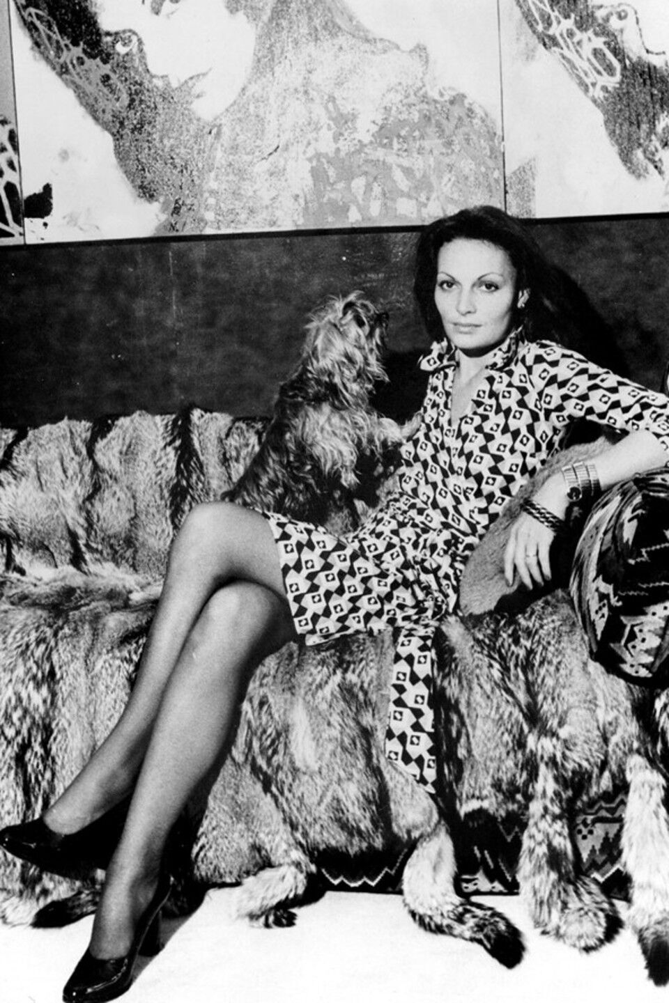 You can be the proud owner of an iconic DVF wrap dress.