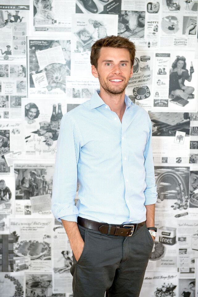 Justin McLeod, the founder of Hinge.