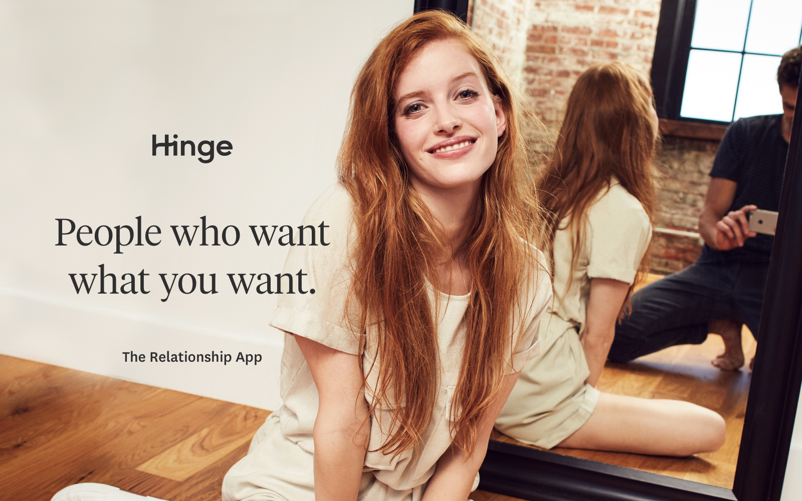 Hinge's new ad campaign promises people who are seriously looking for relationships, for $7 a month.