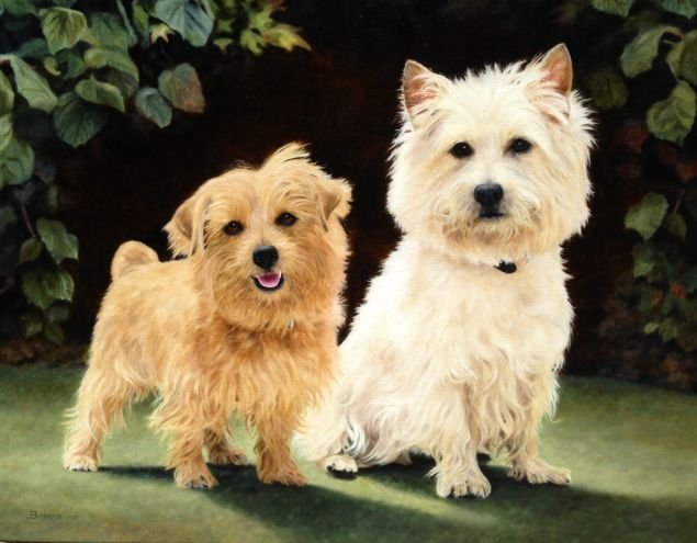 Willow & Chessie, by Anita Baarns.