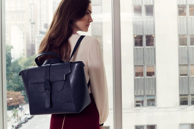 The Maestra Bag in Navy