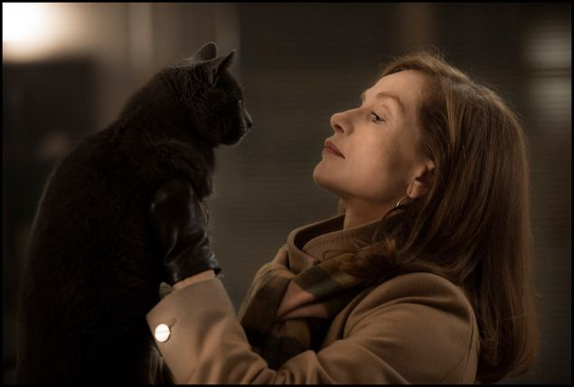 Isabelle Huppert as Michèle in Elle.