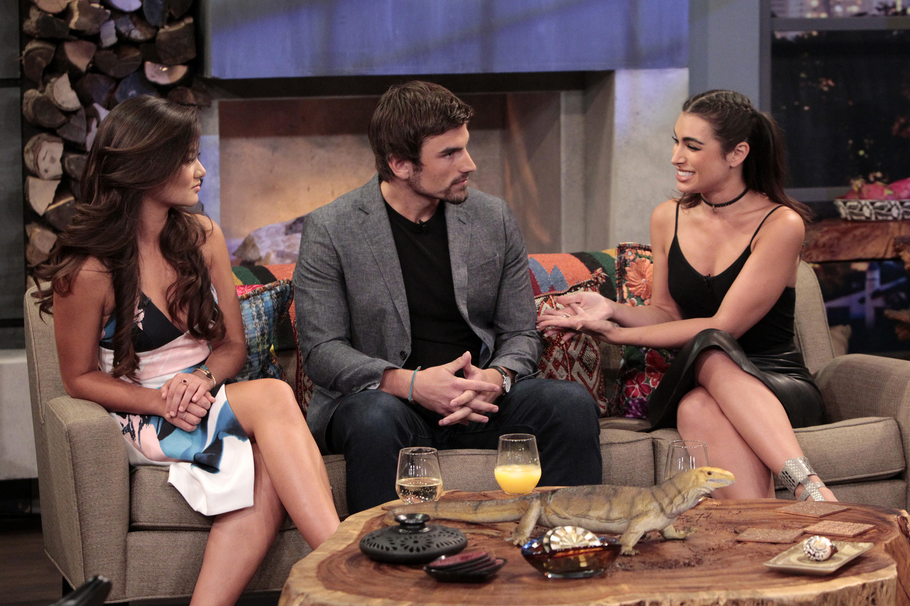 "BACHELOR IN PARADISE: AFTER PARADISE - Current ""Bachelor in Paradise"" contestants Wells, Caila and Jared, as well as Paul Scheer and Flula Borg, are panelists on ABC's hit after-show ""Bachelor in Paradise: After Paradise"" on TUESDAY, AUGUST 30 (9:00-10:00 p.m. EDT), following ""Bachelor in Paradise."" (ABC/Rick Rowell) CAILA QUINN, JARED HAIBON, ASHLEY IACONETTI"